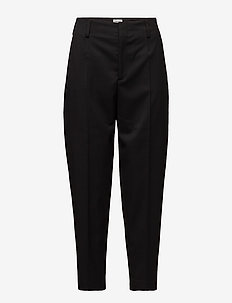 Karlie Trousers - straight leg broeken - black