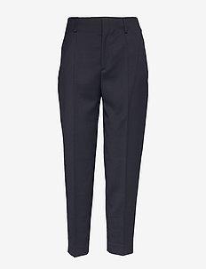 Karlie Trousers - broeken med straight ben - navy