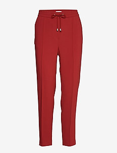 Fiona Drapey Trousers - pure red