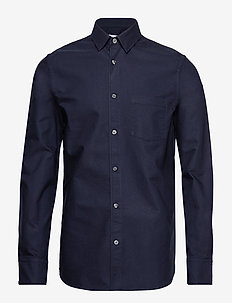 M. Tim Oxford Shirt - DEEPWATER