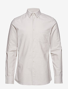 M. Tim Oxford Shirt - OFF-WHITE