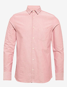 M. Tim Oxford Shirt - basic shirts - pink cedar