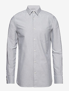 M. Tim Oxford Shirt - PLATOON/WH
