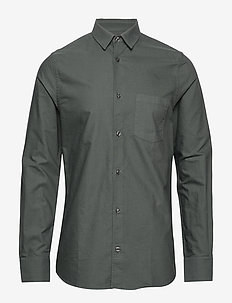M. Tim Oxford Shirt - STONE GREE