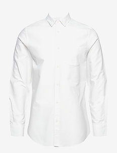 M. Tim Oxford Shirt - basic overhemden - white