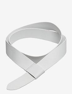 Wrap Leather Belt - WHITE