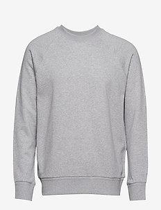 M. Tuxedo Sweatshirt - LIGHT GREY