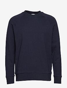 M. Tuxedo Sweatshirt - NAVY