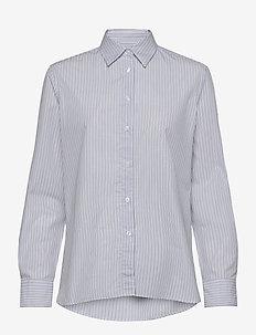 Jane Shirt - langermede skjorter - blue heave