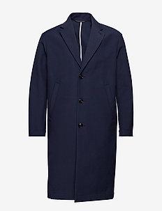 M. Luke Cotton Coat - DK. NAVY