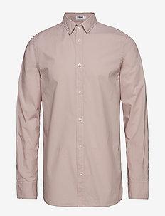 M. Ben Poplin Shirt - FROSTY PIN