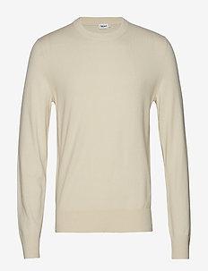 M. Cotton Merino Basic Sweater - BIRCH