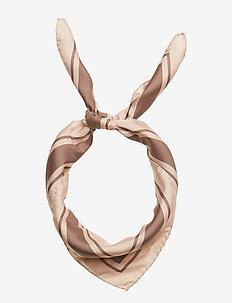 Silk Pattern Scarf - MOUSSE