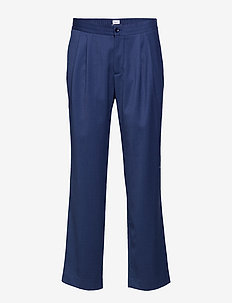 M. Fabian Gabardine Trouser - suit trousers - flag blue