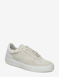 Donna Pony Hair Sneaker - lave sneakers - offwhite