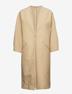 Kai Coat - light coats - sahara