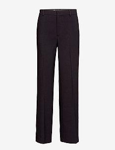 Hutton Trouser - pantalons larges - black