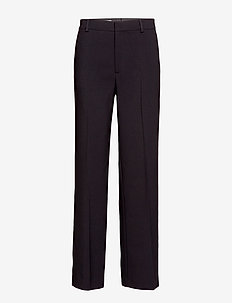 Hutton Trouser - wide leg trousers - black