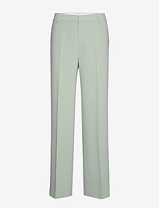 Hutton Trouser - raka byxor - mint powde
