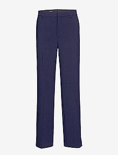 Hutton Trouser - bukser med brede ben - navy