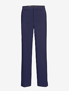 Hutton Trouser - wide leg trousers - navy