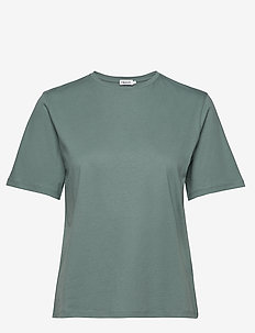 Annie Cotton T-shirt - basic t-shirts - mint powde