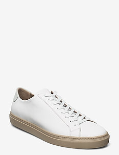 M. Morgan Low Mix Sneaker - low tops - grey beige