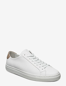 M. Morgan Low Mix Sneaker - low tops - white