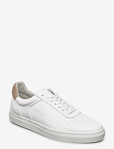 M. Robert Low Mix Sneaker - low tops - white