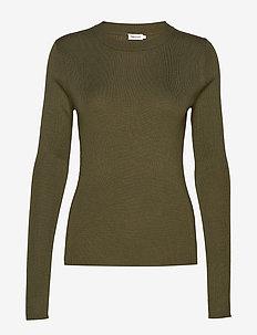 Billy Sweater - tröjor - forest