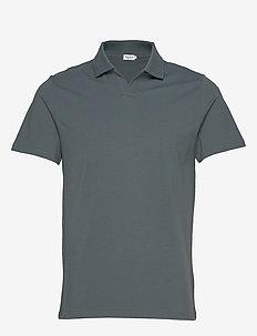M. Lycra Polo T-Shirt - kortærmede - charcoal b