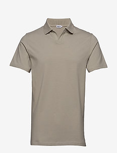 M. Lycra Polo T-Shirt - short-sleeved polos - light sage
