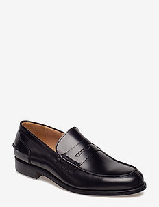 M. Leather Loafer - loafers - shiny blac