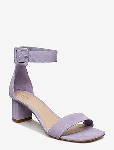 Frances Mid Heel Sandal - HYACINTH S