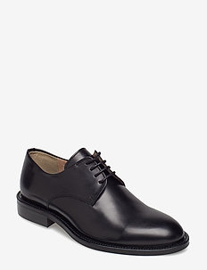 Harper Laced Shoe - BLACK NAPP