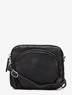 Mini Leather Bag - schoudertassen - black