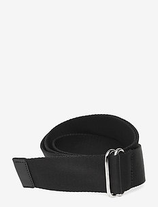 Webbing D-ring Belt - BLACK