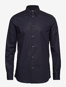 M. James Stretch Shirt - DK. NAVY