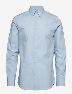 M. James Stretch Shirt - LIGHT BLUE