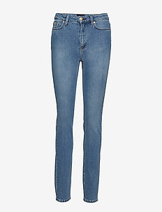 Vicky Washed Jean - slim jeans - mid blue