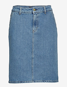 Alicia Denim Skirt - MID BLUE