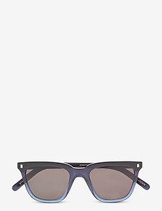 Robotnik Sunglasses - okulary przeciwsłoneczne w kształcie litery d - blue