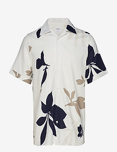 M. Don Sandhamn Print Shirt - OFF WHITE