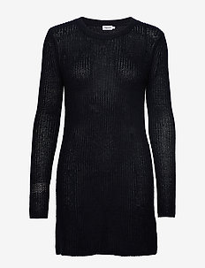 Knitted dress - NAVY
