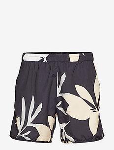 M. Sandhamn Print Swimshorts - NAVY PRINT