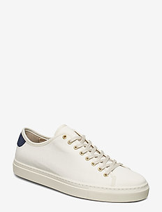 M. Morgan Canvas Sneaker - OFF-WHITE