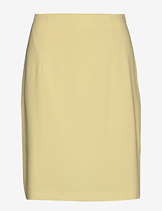 High Waist Crepe Skirt - WAX