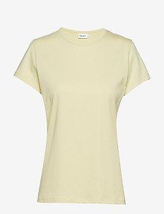 Flared Cap Sleeve T-shirt - WAX