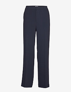 Hutton Crepe Trouser - NAVY