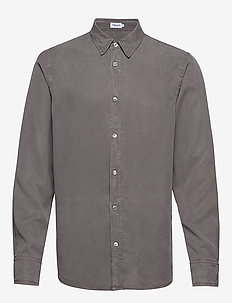 M. Ben Tencel Shirt - GULL GREY